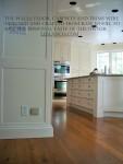 Georgian painted white kitchen