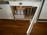 custom baking and tray cabinet