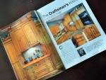 PROFILE of John Le Blancq's custom kitchen published in Canadian Home Workshop Special Issue